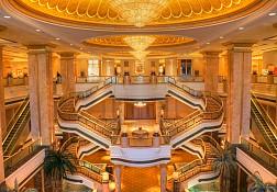 Khám phá bên trong khách sạn Emirates Palace
