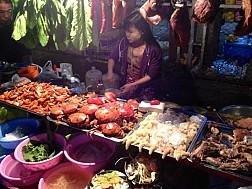Khu phố người Hoa, China Town Yangon