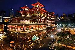 Khu phố nhộn nhịp China Town Yangon