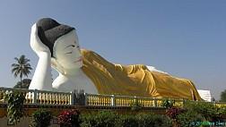 Lối kiến trúc độc đáo của Chùa Phật Nằm Shwethalyaung