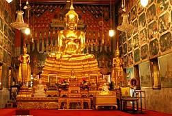 Ngôi chùa Phật Vàng nổi tiếng Thái Lan