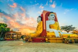 Ngôi Chùa Tượng Phật 4 Mặt Kyaitpun độc đáo