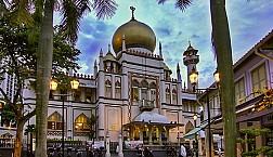 Nhà thờ Hồi giáo Hajjah Fatimah ở Kampong Glam