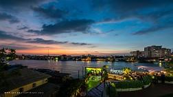 Những hình ảnh đời thường Sông Chao Phraya, Bangkok, Thái Lan
