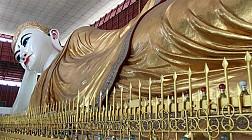 Pho tượng Phật đặc biệt ở chùa Chaukhtatgyi