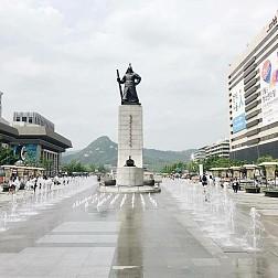 Tham Quan  Quảng Trường Gwanghwamun Square