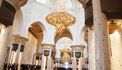 Thánh Đường Trắng Ấn Tượng Nhất Giữa Lòng Sa Mạc  Sheikh Zayed