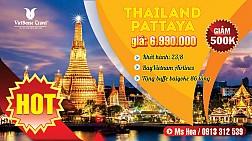 Hành trình khám phá đất nước Thái Lan khởi hành 23/08