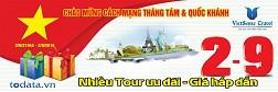 Tưng Bừng Khuyến Mại Tour Du lịch 2/9/2016