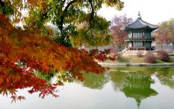 Vọng lâu Bomun nằm ở thành phố Gyeongju Hàn Quốc