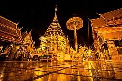 Wat Phrathat Doi Suthep ở Chiang Mai