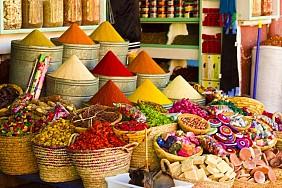 Chợ gia vị Spicy Souk
