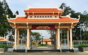 Khu di tích cụ phó bản Nguyễn Sinh Sắc