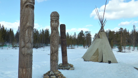 Làng thổ dân Saami