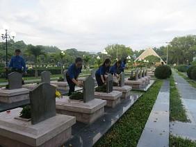 Nghĩa trang liệt sỹ A1, đồi A1