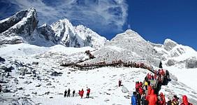 Núi Tuyết Ngọc Long