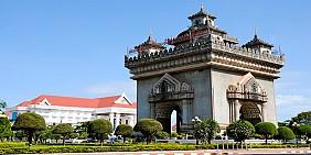 Tượng Đài Chiến Thắng Patuxay