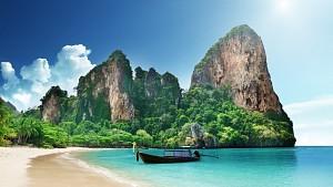 Bán đảo Railay tuyệt đẹp ở Thái Lan