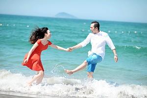 Đón trăng mật lãng mạn ở phố biển Đà Nẵng