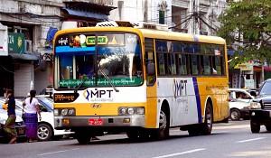 Giá sử dụng phương tiện công cộng ở Myanmar