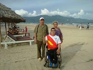 Hành trình người con tật nguyện thực hiện ước mơ du lịch cùng Vietsense Travel
