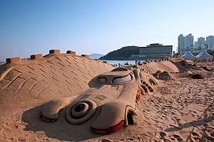 Lễ hội Cát Haeundae bên bờ biển Busan