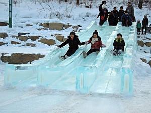 Lễ hội tuyết núi Taebaeksan đặc sắc nhất mùa đông ở Hàn Quốc