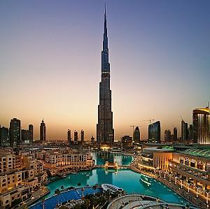 Những tòa nhà chọc trời tại Dubai