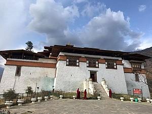 Pháo đài Simtokha Dzong uy nghi, tráng lệ