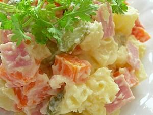 Salad Nga, món ăn nổi tiếng khắp thế giới