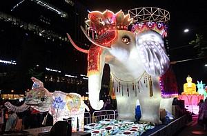 Tham gia lễ hội đèn lồng hoa sen Hàn Quốc