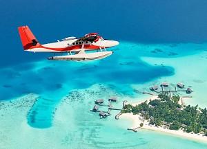 Thích thú ngắm toàn cảnh Maldives bằng thủy phi cơ