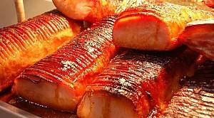 Thịt xông khói thơm ngon, béo ngậy
