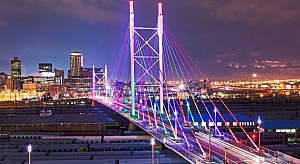 Johannesburg, thành phố lớn nhất Nam Phi