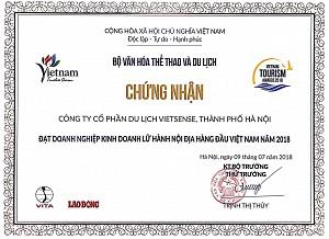 Top 10 Doanh nghiệp Du lịch hàng đầu Việt Nam- cơ hội và thách thức đang chờ đón VietSense Travel