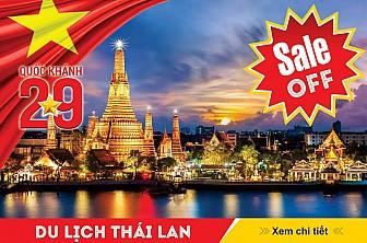 Bangkok - Pattaya 4 Ngày 3 Đêm Khởi Hành 31/08