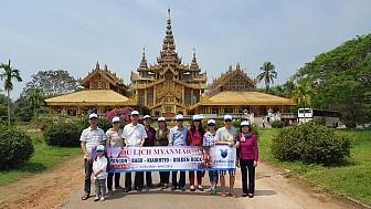 Myanmar - Yangon - Bago - Golden Rock Từ Hà Nội 2017