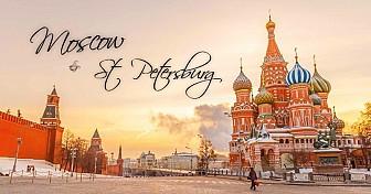 Moscow - Saint Peterburg 8 Ngày Khởi Hành Thứ 5 Hàng Tuần 2019