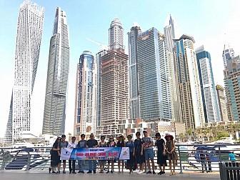 DUBAI - ABU DHABI  KHỞI HÀNH HÀNG TUẦN, 2018 TỪ HÀ NỘI