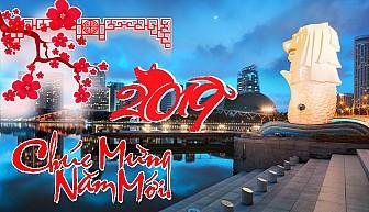 Tour Singapore 4 ngày dịp tết dương lịch 2019
