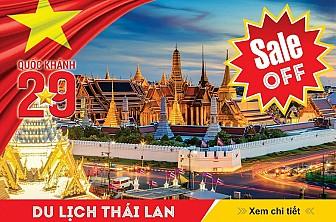 Bangkok - Pattaya Dịp Quốc Khánh 02/09/2018