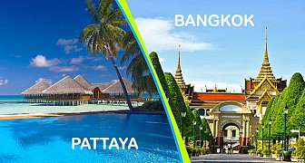 Bangkok - Pattaya: KH Thứ 4 Hàng Tuần (03.2018) Từ Hà Nội