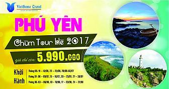 Tour Hà Nôi - Phú Yên - Quy Nhơn Giá Sốc Chào Hè 2017