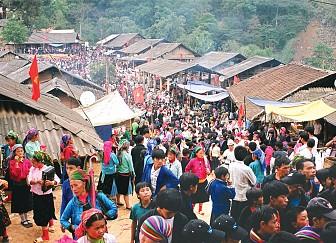 Hà Giang - Chợ Tình Khâu Vai