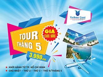 Tour Hồ Chí Minh - Nha Trang - Vinpearl Land - Yangbay Tháng 5 (Bao Trọn Vé Máy Bay)