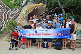 Tour Nha Trang 4 Đảo - Thác YangBay - Vinpearl Land - Tắm Bùn