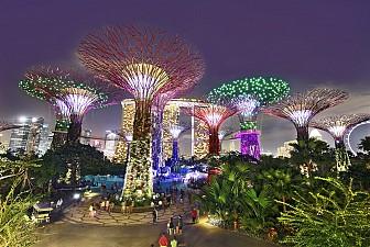 Đi Singapore thăm Sentosa và Garden By The Bay ngày 22, 30, 31 tháng 12