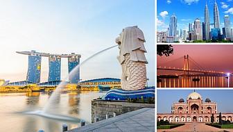 LỊCH KHỞI HÀNH SINGAPORE - MALAYSIA