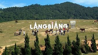 VDL02: Tour Du Lịch Đà Lạt 1 ngày:  Lên Đỉnh Langbiang - Khám Phá Làng Cù Lần