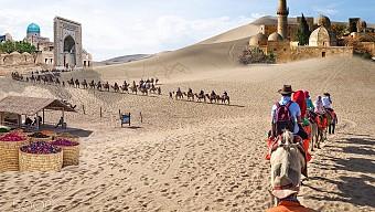 Con Đường Tơ Lụa: Địa Mạo Đan Hà - Gia Dục Quan - Đôn Hoàng - Ngọc Môn Quan - MB